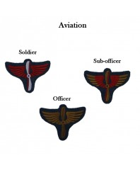 Arm badges for aviation