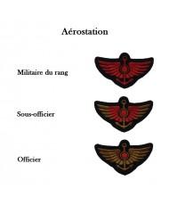 Insignes de bras de l'aérostation