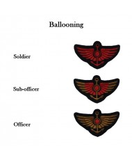 Arm badges for ballooning