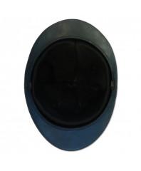 intérieur premier type en cuir noir dans un casque Adrian