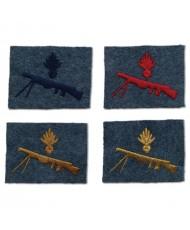 Chauchat machine gunner insignias