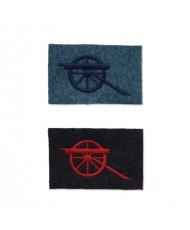 37mm gunner insignias