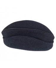 Bonnet de police modèle 1891 en drap de laine gris de fer bleuté