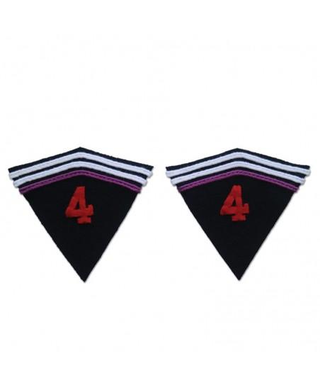 1935 model badges for 4th regiment Dragons Portés