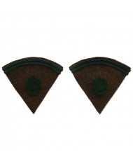 2 collar tabs for the Foreign Legion's greatcoat