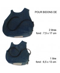 Horzon blue covers for 2 liters and 1 liter 1877 model can